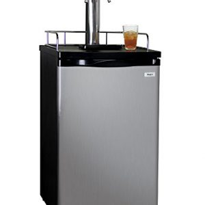 Kegco KOM19S-2 Kombucharator Tap Ball Lock Keg Dispenser - Stainless