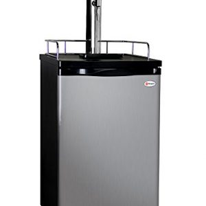 Kegco MPK199SS-G Guinness Dispensing Kegerator with Black Cabinet and Stainless Steel Door