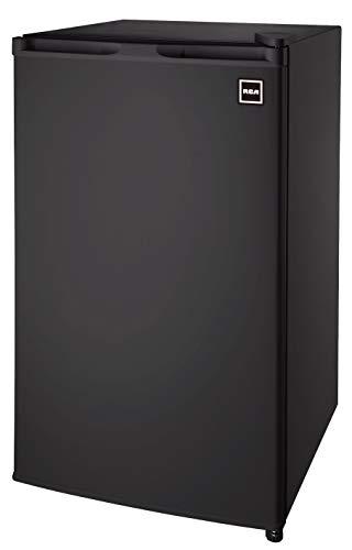 RCA RFR321 Single Door Mini Fridge with Freezer, 3.2 Cu. Ft. capacity - Black