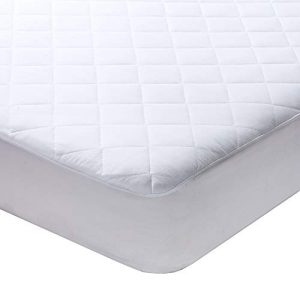 "Milddreams Full Mattress Pad Cover Protector - Bed Pad Size (54x75 inches + 16"" Deep Pocket) - Quilted Fitted Sheet Hypoallergenic Protection"