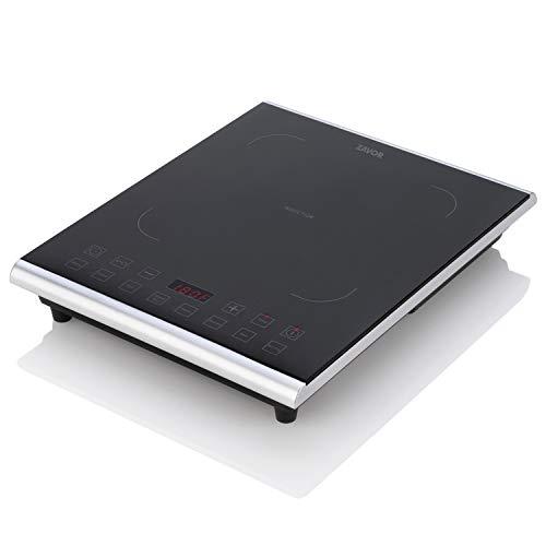 Zavor PRO Portable Induction Cooktop, Magnetic Countertop Burner with 8 Pre-sets and 325°F Temperature Range, 1800W, Black (ZSEPR01)