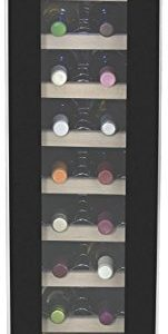 Cuisinart CWC-1800TS 18-Bottle Private Reserve Cellar, Black Wine Refrigerator