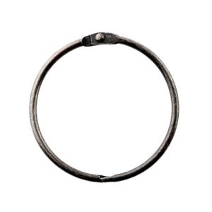 SlipX Solutions Oil-Rubbed Bronze Simple Slide Shower Curtain Rings Provide Effortless Gliding on Standard Shower Rods (Rust Resistant, Snap Closure, Set of 12)
