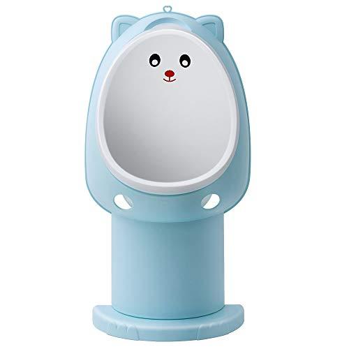 Hallo Potty Training Urinal Boy Urinal Kids Toddler Pee Trainer Bathroom Funny Baby Training Potties(Blue)