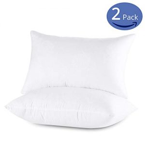Emolli Hotel Sleeping Bed Pillows - 2 Pack Luxury Standard Pillows Super Soft Down Microfiber Alternative and 100% Cotton Cover