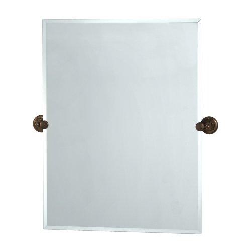 Gatco 4349S Tiara Rectangular Wall Mirror, Bronze