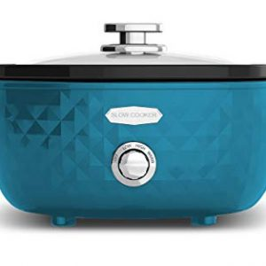 Elite Platinum (ELJ6E) Elite Platinum Slow Cooker, 6QT, Teal