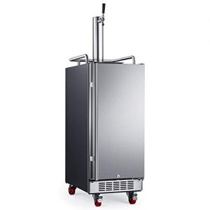 "EdgeStar KC1500SS 15"" Built-In Stainless Steel Kegerator"