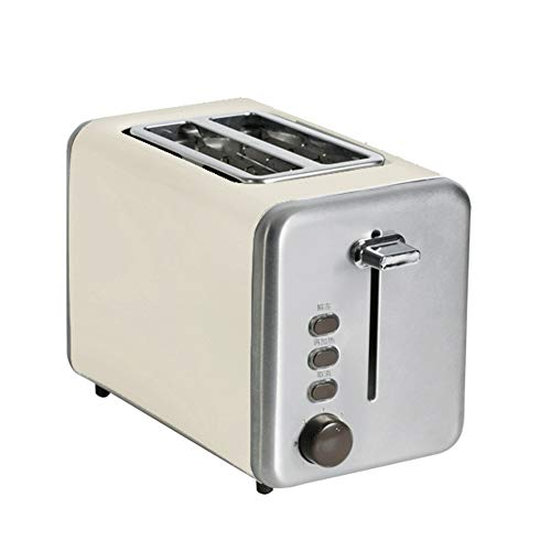 Toaster, 2 Slices Of Toaster, Stainless Steel, Extra Wide 2Slice Long Slot Toaster, 7 Browning Setting Warming Rack/High-Lift/Cancel/Automatic Toaster