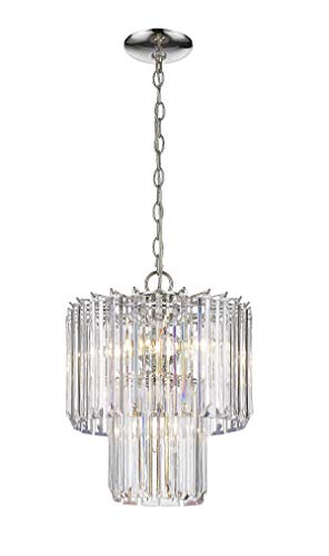 Odeums Luxury Modern/Contemporary Crystal Chandelier, Living Room Ceiling Light Pendant Light, Dinning Room Chandelier Pendant Lighting Fixture