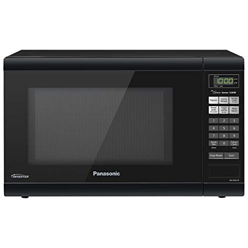 Panasonic Countertop with Inverter Technology and Genius Sensor Microwave Oven, 1.2 cft, Black