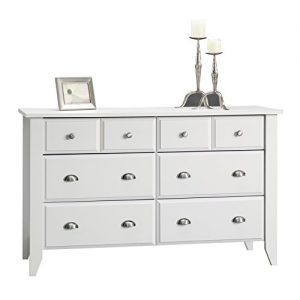 Sauder Shoal Creek Dresser, Soft White finish
