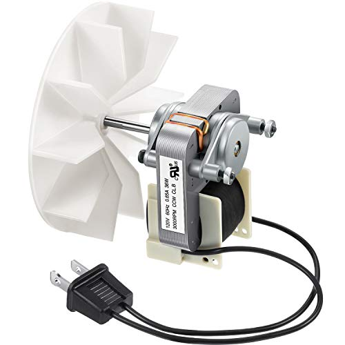 Universal Bathroom Vent Fan Motor Replacement Electric Motors Kit Compatible with Nutone Broan 50CFM 120V