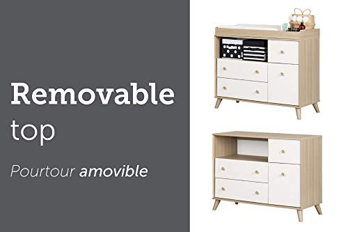 South Shore Yodi Changing Table with Drawers Guarantee: 5-year restricted assure.