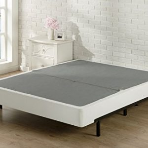 Sleep Master BiFold Box Spring Folding Mattress Foundation, Split King