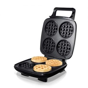Burgess Brothers ChurWaffle Maker · Specialty Waffle Maker · Makes 4 Waffles at a Time · Premium Non-Stick Plates · Special Recipe to Make the Perfect Cornbread ChurWaffles & Waffles Every Time