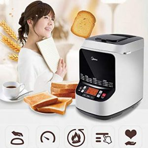 F.O.G. Bread Machine, Gluten Free Whole Wheat Breadmaker, Programmable Bread Maker Machine with Automatic Yeast Dispenser, 13h Delay Time 1h Keep Warm