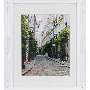 kieragrace Traditional luxury-frames, 11 by 14-Inch, White