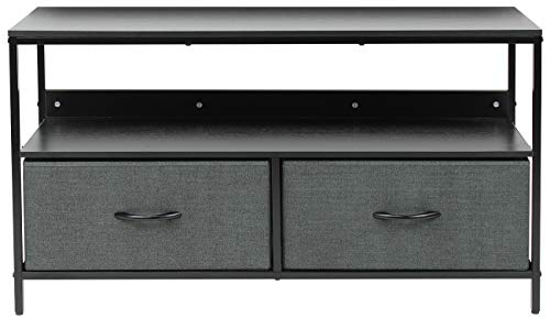 Sorbus Dresser Drawers TV Stand 25-50 Inch - Living Room Side Bundle Dimensions: 38.Eight x 11.5 x 22.three inches