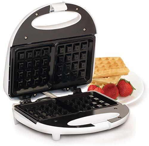 Maxi-Matic EWM-9008K Waffle Maker, White