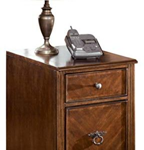 Signature Design by Ashley Hamlyn File Cabinet Medium Brown