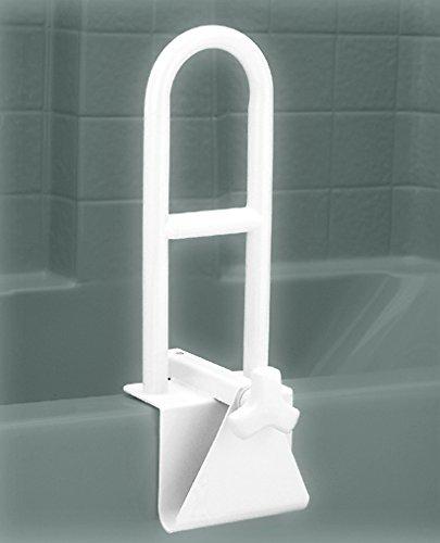 NOVA Bathtub Safety Rail, Tub Grab bar for Bathroom, Clamps to Side of Bathtub Safety Rail