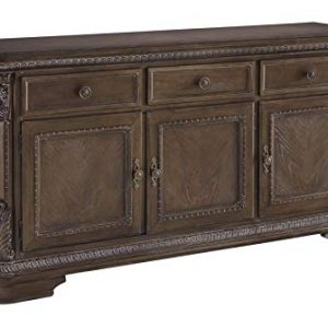 Signature Design By Ashley - Charmond Dining Room Buffet Server - Traditional Style - Brown