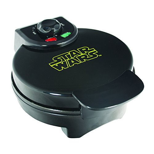 Uncanny Brands Darth Vader Waffle Maker- Sith Lord On Your Waffles- Waffle Iron