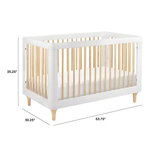 Babyletto Lolly 3-in-1 Convertible Crib with Toddler Bed Conversion Kit Package deal Dimensions: 53.6 x 30.Three x 35.Three inches