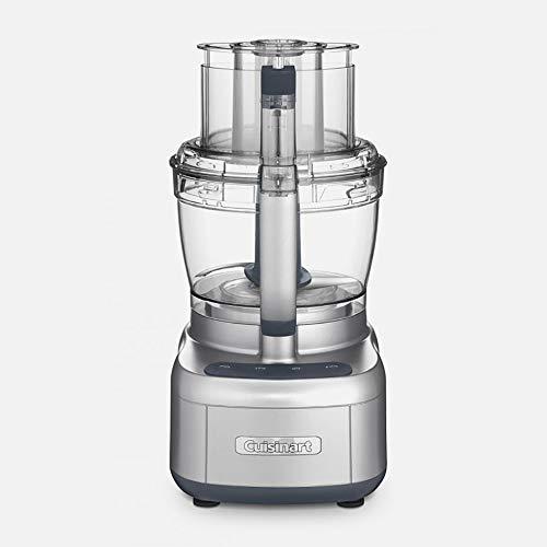 Cuisinart FP-13DSVFR Elemental 13 Cup Chopper Food Processor Kitchen Appliance, Silver (Renewed)