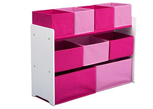 Delta Children Deluxe 9-Bin Toy Storage Organizer