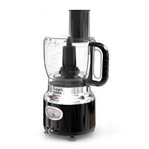 Remington Russell Hobbs FP3100BKR Retro Style Food Processor, 8-Cup (64-oz) Capacity, Black