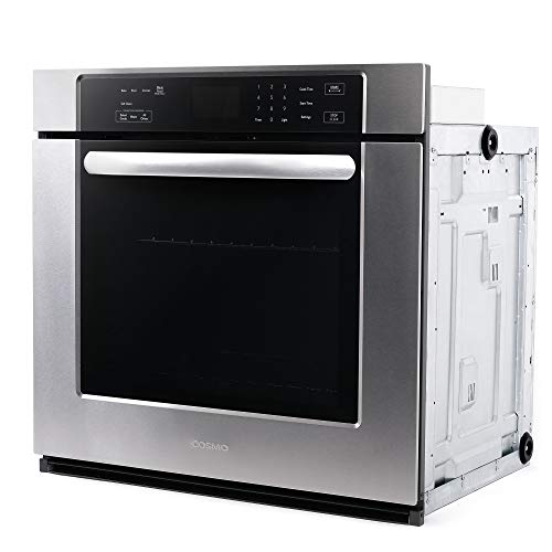 Cosmo 30 in. Electric Single Wall Oven with 5 cu. ft. Capacity Guarantee: 2-year restricted components and labor guarantee