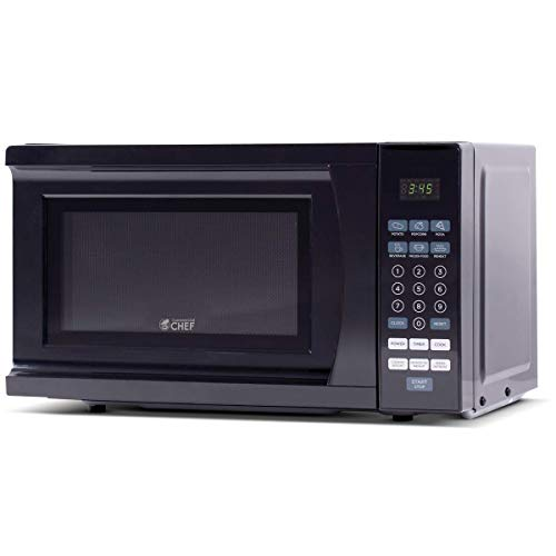 Commercial Chef CHM770B Countertop Microwave, 0.7 Cubic Feet, Black
