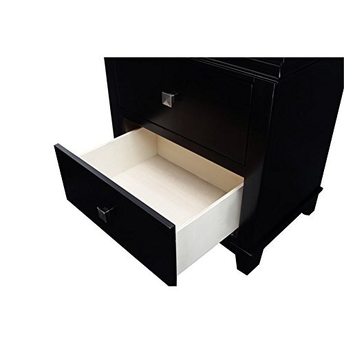 Furniture of America Pasha 3-Piece Queen Platform Bedroom Set Bundle Dimensions: 85.5 x 66.5 x 52.zero inches