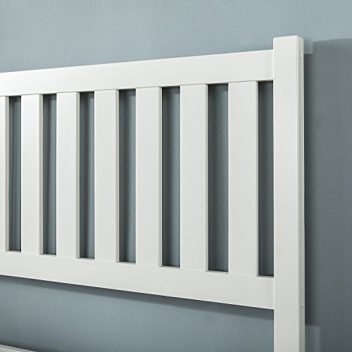 Zinus Wen Deluxe Wood Platform Bed with Slatted Headboard Package Dimensions: 81.8 x 60.8 x 43.2 inches