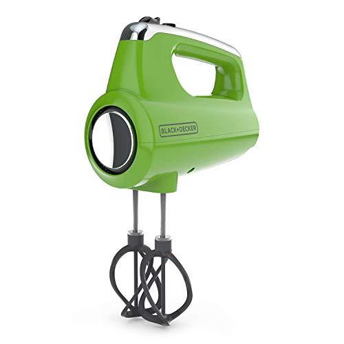 Black+Decker MX600L Helix Performance Premium Hand, 5-Speed Mixer, Lime Green, small