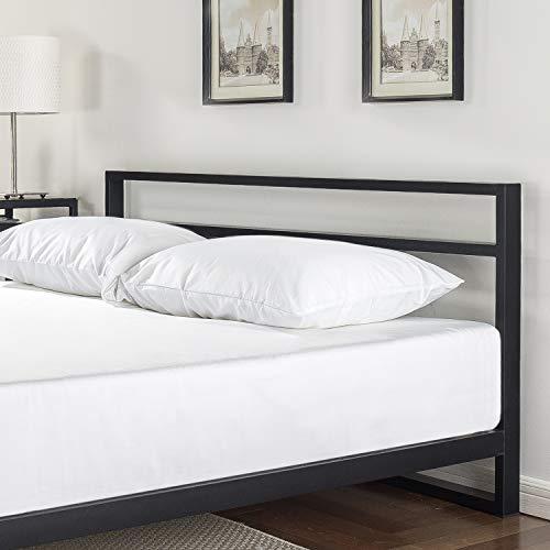 Zinus Trisha 7 Inch Platforma Bed Frame with Headboard / Mattress Foundation Bundle Dimensions: 81.5 x 59.5 x 27.zero inches