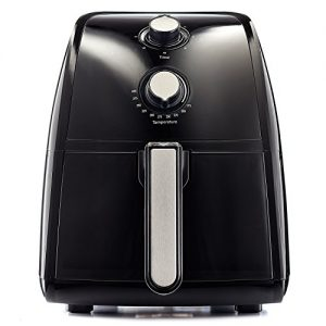 BELLA (14538) 2.6 Quart Air Fryer, Black