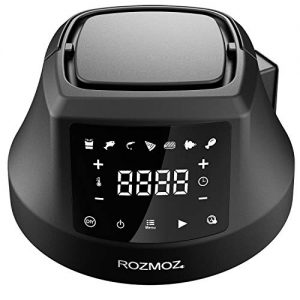 ROZMOZ Air Fryer Lid 7 in 1 for Electric Pressure Cooker, Turn 6QT Pressure Cooker into an Air Fryer, with LED Touchscreen and ETL Safety Protection for Air Frying