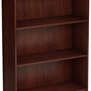 South Shore Axess 3-Shelf Bookcase-Royal Cherry