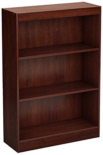 South Shore Axess 3-Shelf Bookcase-Royal Cherry