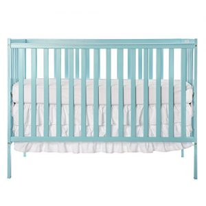 Dream On Me, Synergy 5-in-1 Convertible Crib, Aqua Sky