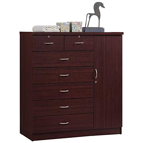 Pemberly Row 7 Drawer Chest in Mahogany