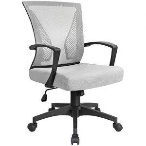 Office Chair KaiMeng Mesh Mid Back Ergonomic Computer Chair