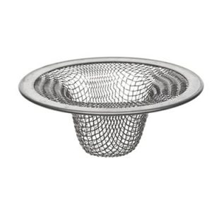 Danco Bathroom 88821 2-3/4-Inch Tub Mesh Strainer, Stainless Steel, 2-1/2-Inch Lavatory