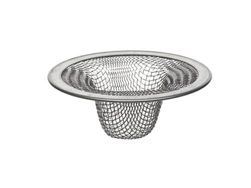 Danco Bathroom 88821 2-3/4-Inch Tub Mesh Strainer, Stainless Steel, 2-1/2-Inch Lavatory