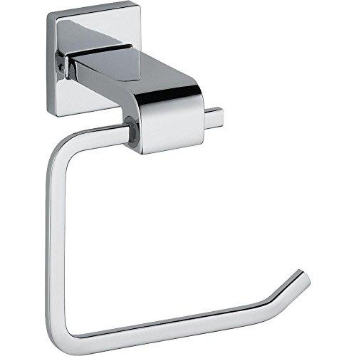Delta Faucet 77550 Ara Toilet Paper Holder, Single Post, Chrome