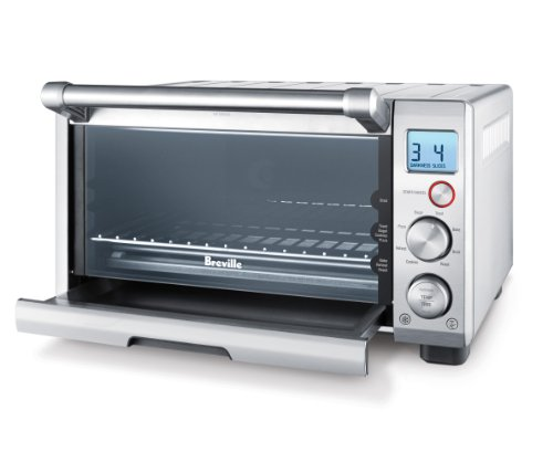 Breville the Compact Smart Oven, Countertop Electric Toaster Oven Guarantee: 1 12 months restricted guarantee