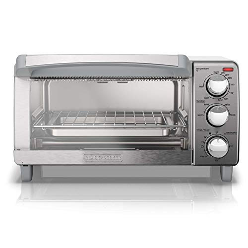 BLACK+DECKER 4-Slice Toaster Oven with Natural Convection, Stainless Steel Launch Date: 2017-06-01T00:00:01Z